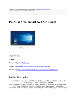 PC All in One Teclast X22 Air Bianco : Ipersi,prodotti in offerta sotto