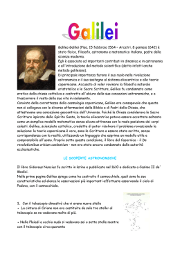 Galileo da modificare