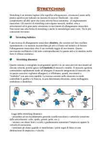 Stretching - Sporting Club Oleggio