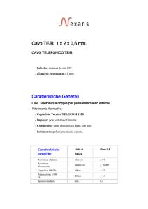 0,13 €//1m trefolo lib 0,25mm² ARANCIO bobina con 100m