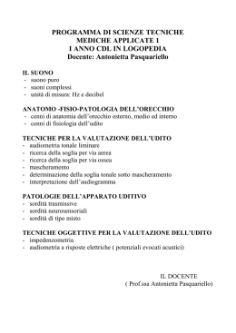 Scienze Tecniche Mediche Applicate 1
