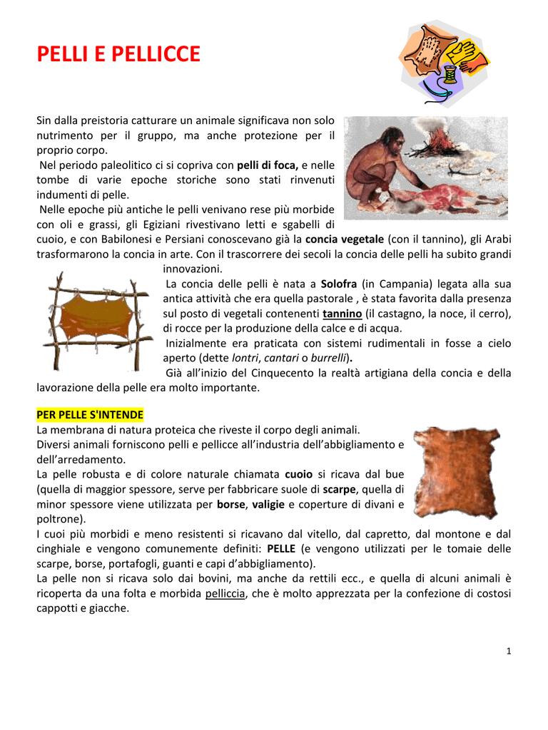 Pelli e pellicce