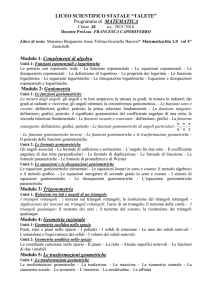 Classe 4E as 2015/ 2016 - Liceo Scientifico Talete