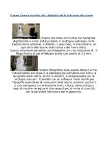 Fundus Camera non Midriatico Digitalizzato in