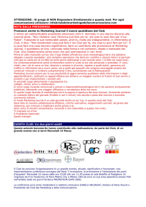 Newsletter n°10/2006 - Club del Marketing e della Comunicazione