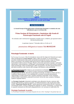 Template 1 - Single Column - Ordine Psicologi Campania