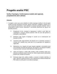 Progetto analisi PSC