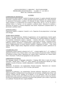 "LICEO SCIENTIFICO ""C. MIRANDA"""