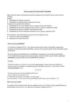 Probabilità - Studenti.it