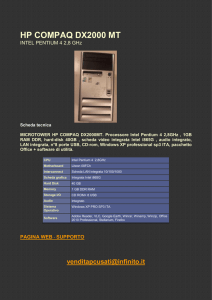 125 - hp compaq dx2000mt