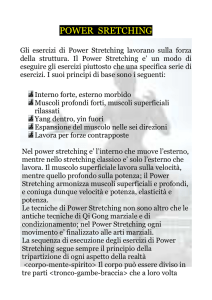 Power Stretching - Sporting Club Oleggio