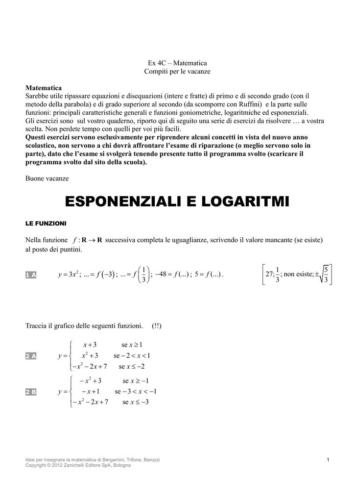 4d Matematica E Fisica