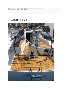 T-YACHTS T 34 : Sea Services Buglione : http://www