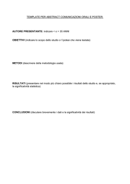 Documento Template