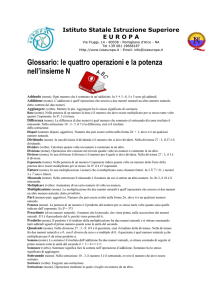Addendo (nome) - Delivery Unit Campania