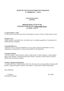 Scienze_1E - Itis Morselli