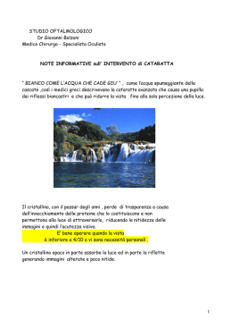 cataratta - Amica Card