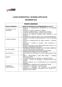scienze applicate - Liceo Majorana Latina