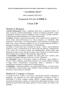 "2d_fisica_as_16_17 - IPSIA ""Leon Battista Alberti"""