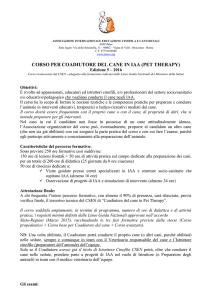 Del Per Corso In Therapy Coadiutore Iaapet Cane E9W2DYHI