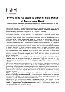 Stagione FORM 2017