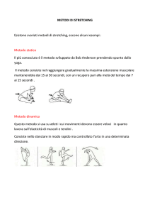 metodi di stretching - Sporting Club Oleggio