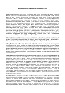 "Relatori ""XIV Convention Donne Impresa 2012"""