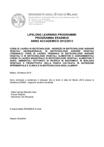 lifelong learning programme programma