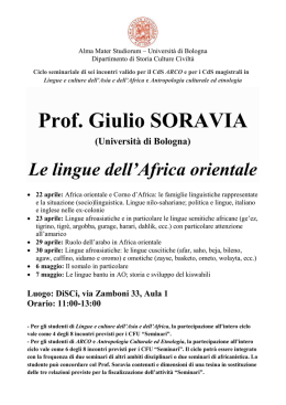 Soravia 2015-2 - Lauree e Lauree Magistrali