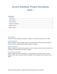 Database Project Document Template
