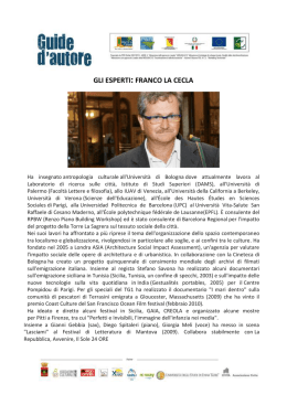 Biografia Franco La Cecla(application/octet-stream