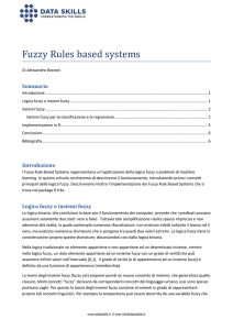 Fuzzy Rules based systems