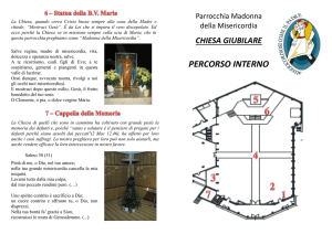itinerario all`interno