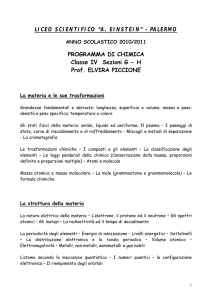 H Prof. ELVIRA PICCIONE - Liceo Scientifico Albert Einstein