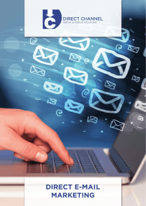 direct e-Mail Marketing