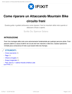 Come riparare un Attaccando Mountain Bike circuito freni
