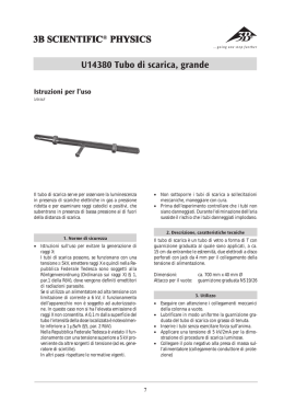 Istruzioni per l`uso 3B SCIENTIFIC 3B SCIENTIFIC® PHYSICS