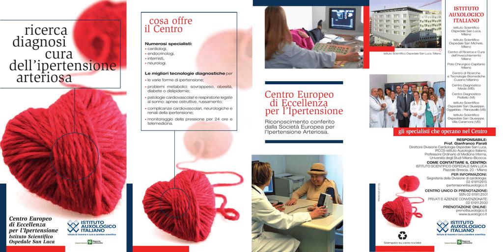 Brochure centro ipertensione - Istituto Auxologico Italiano