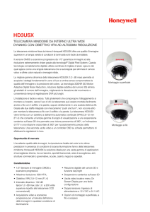 HD3USX - Honeywell Security