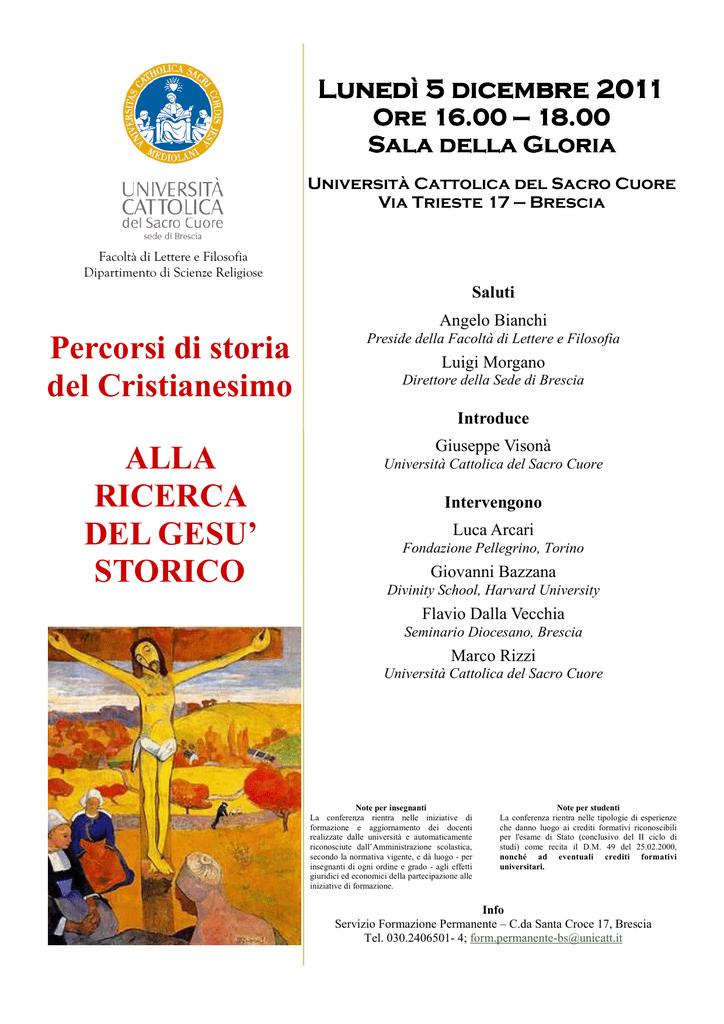 Unicatt Calendario Esami.Lettere E Filosofia Brescia Casa