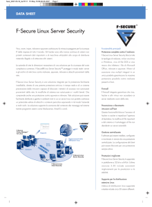 F-Secure Linux Server Security