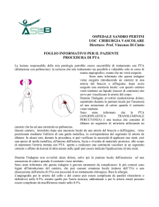 Angioplastica e procedure endovascolari