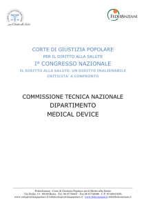 Dossier Dipartimento Medical Devices 28-10-2012