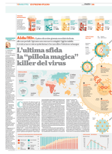 "L`ultima sfida la ""pillola magica"" killer del virus"