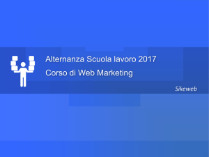 Web Marketing - Introduzione