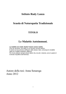 tesi in pdf - Guarigione Olistica