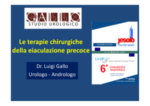 scarica pdf - Studio Urologico Gallo