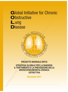 GOLD 2011 - Global Initiative for Chronic Obstructive Lung Disease