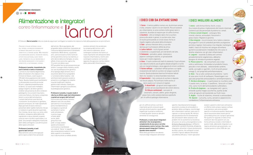 dieta vegetariana per i pazienti con osteoartrosis