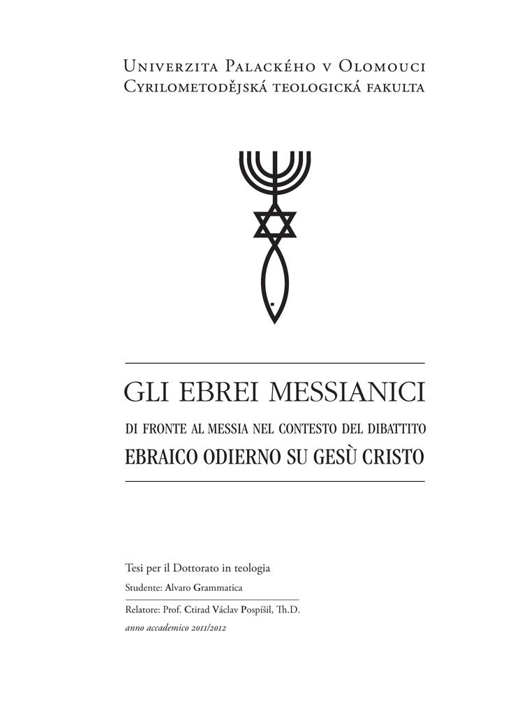 messianica ebraico siti di incontri